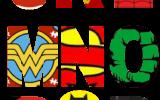 Free Printable Superhero Alphabet Letters