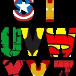 Free Printable Superhero Alphabet Letters Superhero