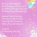 Free Printable Tooth Fairy Letter Elfster