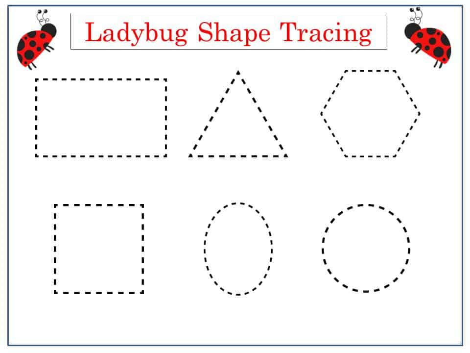 Free Summer Tracing Printables Mess For Less
