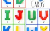 Free Uppercase Alphabet LEGO Cards Free Homeschool Deals