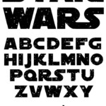 Galaxy Font Svg Vector Letters With Stars Svg In 2020