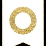 Gold Free Printable Banner Letters Girland Kreat v