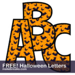 Halloween Free Printable Alphabet Make Breaks