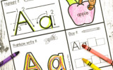 Handwriting Activity Pages Playdough To Plato