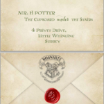 Harry Potter Admittance Letter FREE Printable