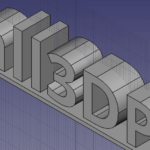 How To 3D Print Letters Or Text Using FreeCAD All3DP