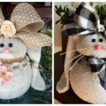 How To Make Sock Bunnies Crafty Morning