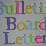 Items Similar To Die Cut Letters Bulletin Board Letters