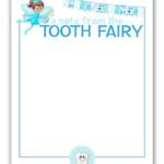 K Designs Blog Tooth Fairy Stationary FREE Printable