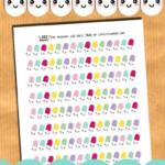 Kawaii Pills Planner Stickers Lovely Planner