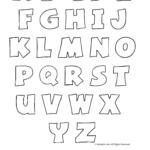 Kostenloses Printable Alphabet Bubble Letters