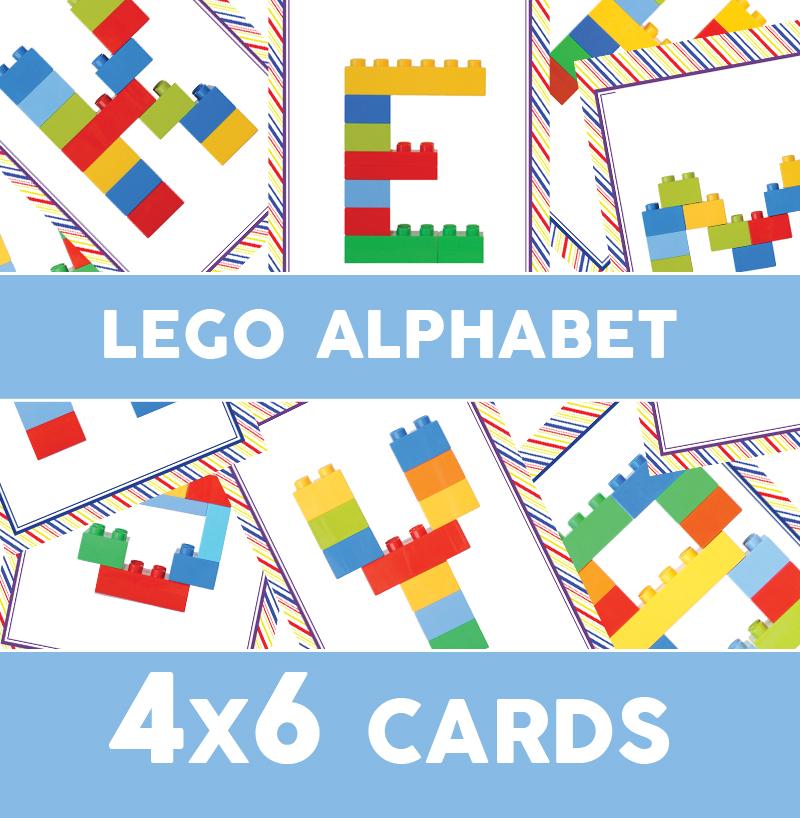 Lego Duplo Alphabet Cards One Beautiful Home