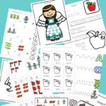 Letter A Preschool Printable Pack Preschool Letters