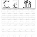 Letter C Alphabet Tracing Worksheets Free Printable PDF