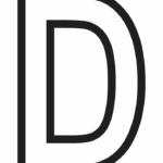 Letter D Printable Psfont Tk