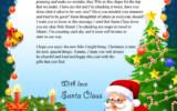 Letter From Santa Claus BooksAreMyFriends