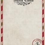 Letter From Santa Printable