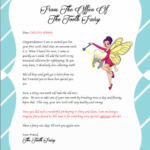 Letter From The Tooth Fairy Tooth Fairy Telegram