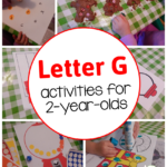 Letter G Activities For 2 year olds The Measured Mom