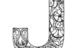 Letter J Printable Coloring Pages Printable Template 2021