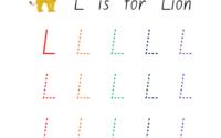 Letter L Worksheets Guruparents