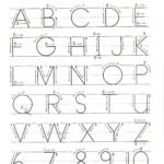 Letter Practice For Preschoolers Activity Shelter