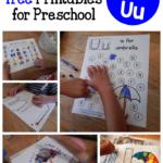 Letter U Activities For Preschool The Measured Mom