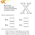 Letter X Worksheets Kindergarten Worksheets
