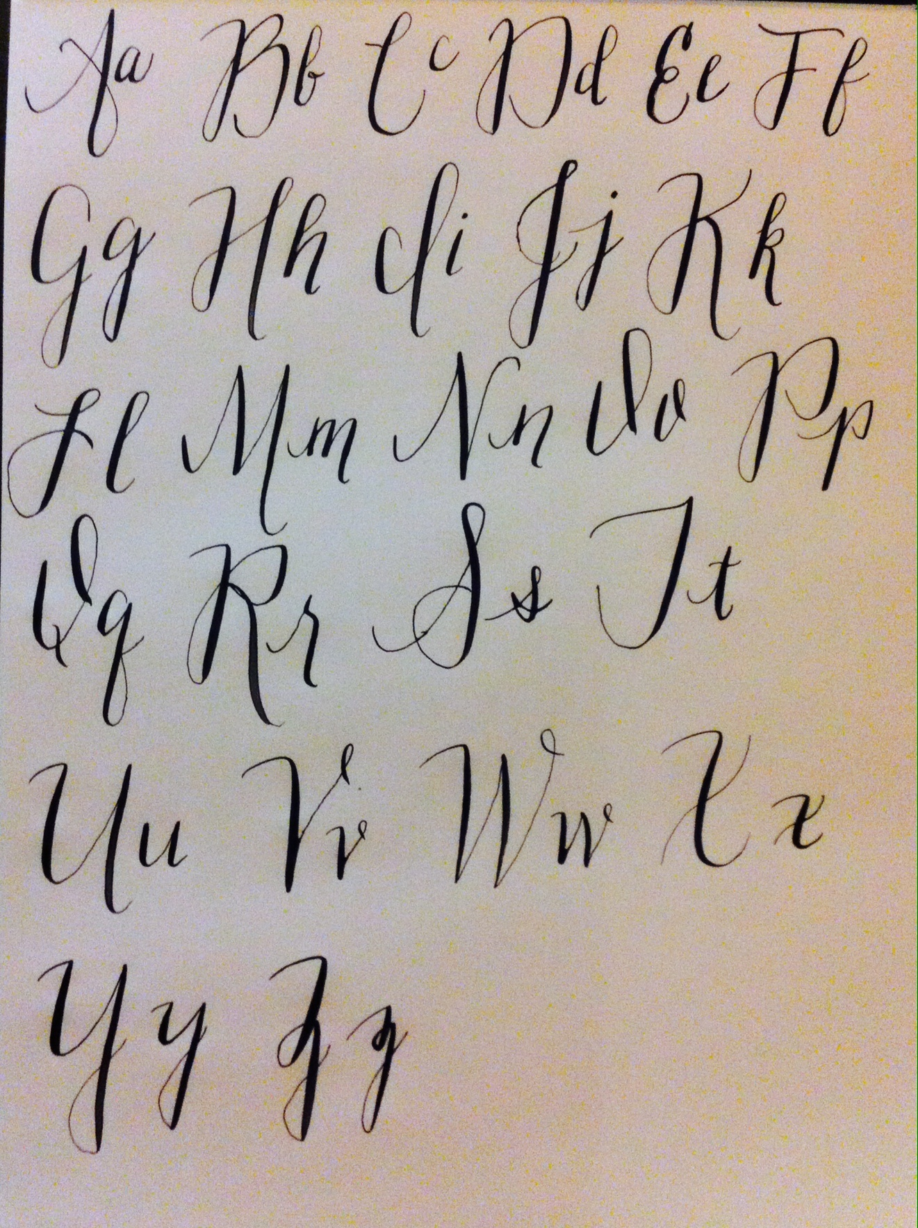 Lettering Practice Skillshare Projects