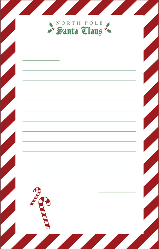 Letters To Santa Claus Designs By Miss Mandee