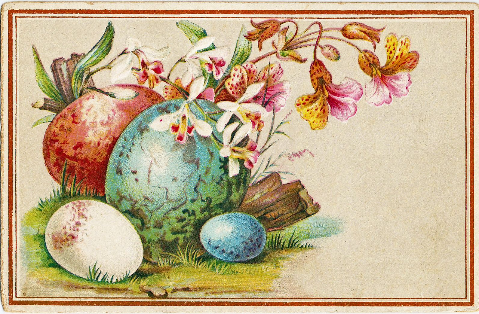 Library Of Free Vintage Easter Clip Free Download Images