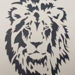 Lion Stencil Lion Stencil Animal Stencil Tiger Stencil