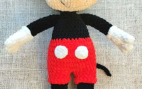 Mickey Mouse Amigurumi Pattern Disney Crochet Pattern