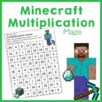 Minecraft Multiplication Mazes Royal Baloo