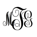 MonogramsByM Free Monogram Font