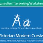 Name Tracing Victorian Modern Cursive