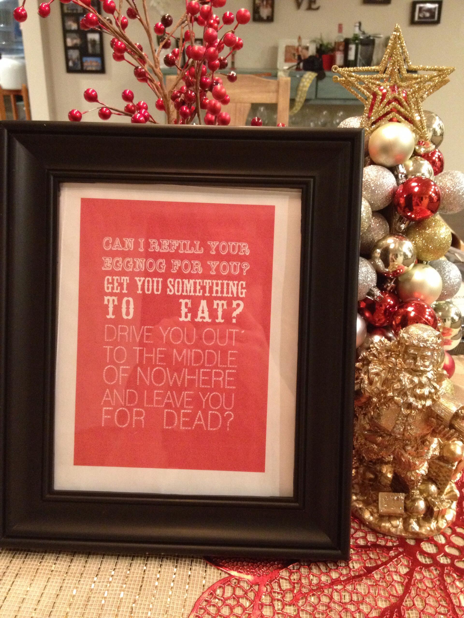 National Lampoon s Christmas Vacation Free Printables