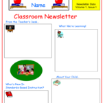 Newsletter Template 37 Free Templates In PDF Word