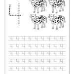 Number Trace Worksheets 101 Printable