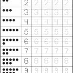 Number Worksheets For Children Activity Shelter