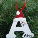 Personalized Santa Letter Ornaments