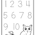 Preschool Lesson Plan On Number Recognition 1 10 With
