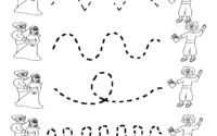 Preschool Number Tracing Worksheets Free Printable