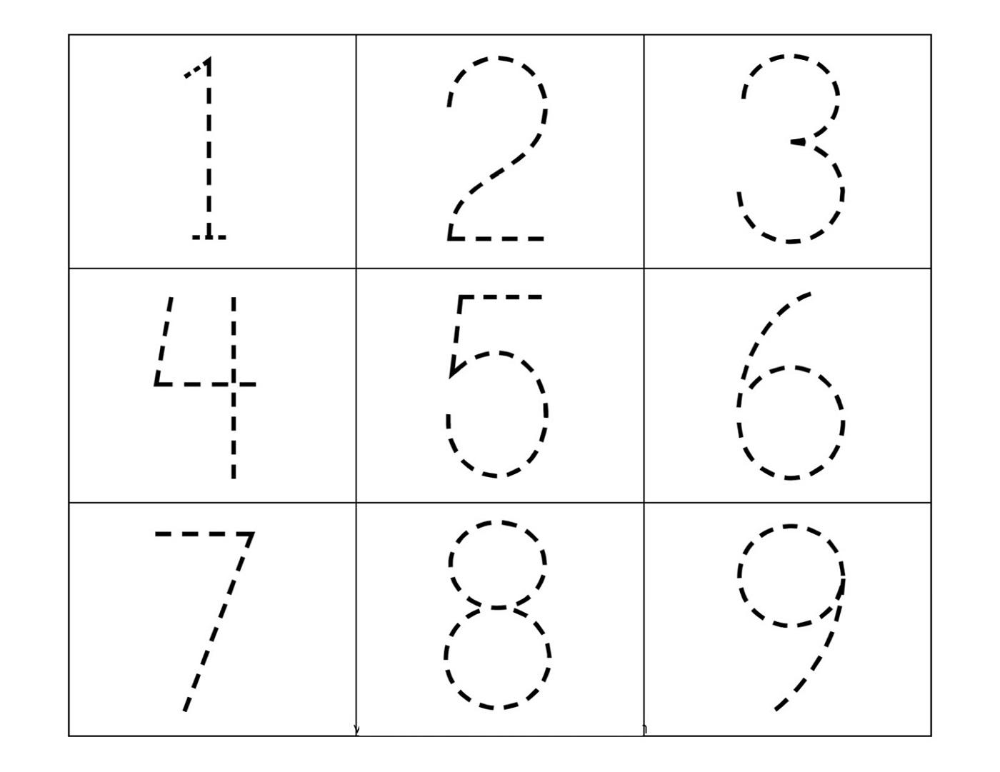 Preschool Traceables Fun Worksheets Learning Printable