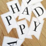 Printable Alphabet Banner Letters Printable Banner