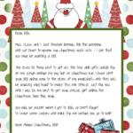 Printable Blank Santa Claus Free Large Images