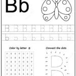 Printable Letter B Worksheets For Kindergarten Preschoolers