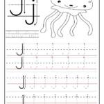 Printable Letter J Tracing Worksheets For Preschool