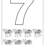 Printable Number 7 Worksheets Activity Shelter